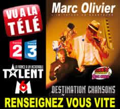 Marc Olivier : Marc Olivier Imitateur en Chanteur