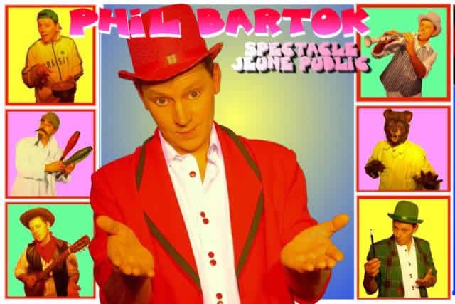 Compagnie Tiptonic : Phil Bartok: spectacle pour enfants