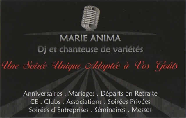 marie anima événementiel : Sonorisation et Animation