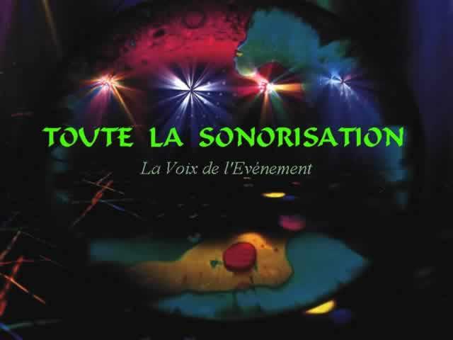 TOUTE LA SONORISATION : sonorisation,Eclairage,de vos evenements