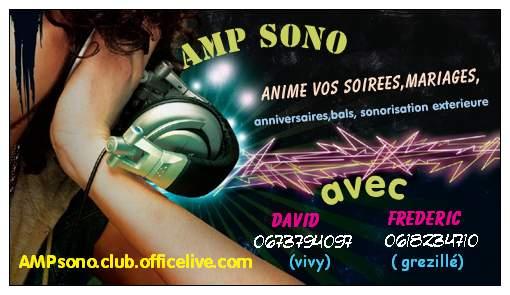 AMPSONO : dj animateur