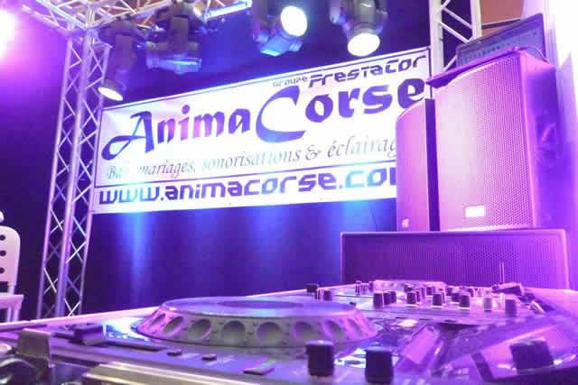 Anima Corse - DJ pro -  Location SONO Mariage : Animation DJ professionelle en Corse