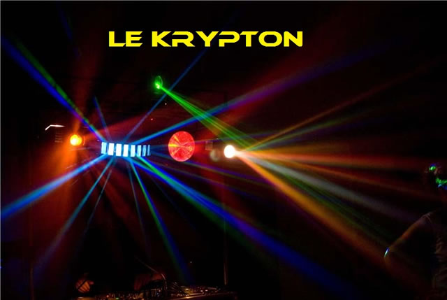 le krypton : animation sonorisation �clairage