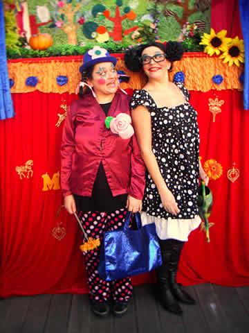 Compagnie les marrons show : Spectacles de marionnettes et clown