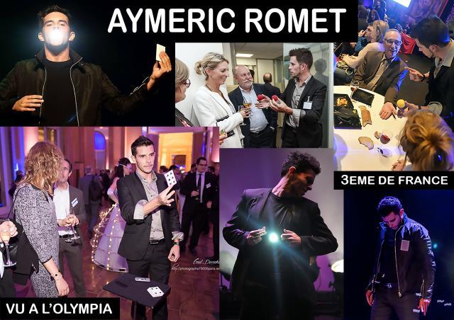 Aymeric Romet : Magiciens pour tous types d'évènements