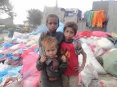 enfant symbole d innocence : l'humanitaire par l'animation