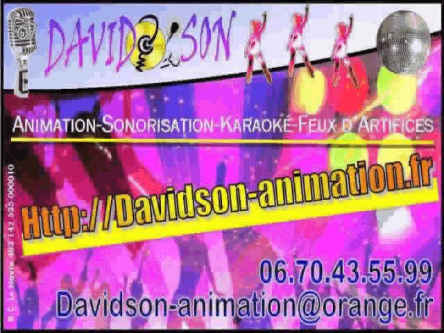 DAVIDSON Animation : Animation - Sonorisation - Karaoké - ...