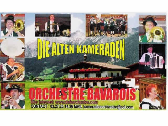 orchestre bavarois die alten kameraden : orchestre bavarois et spectacle pour enfants