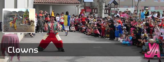BOBO LE CLOWN : Clown anniversaire enfants, à domicile avec spectacle