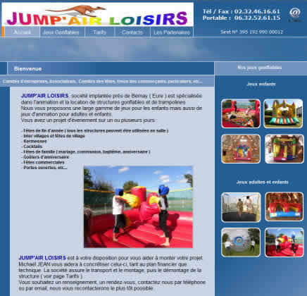 jump air loisirs : location jeux gonflables