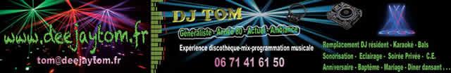 dj tom : dj animateur de soir�e