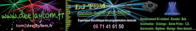 dj tom : dj animateur de soirée
