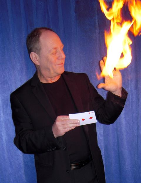 Frank Barton magicien : Magie visuelle moderne