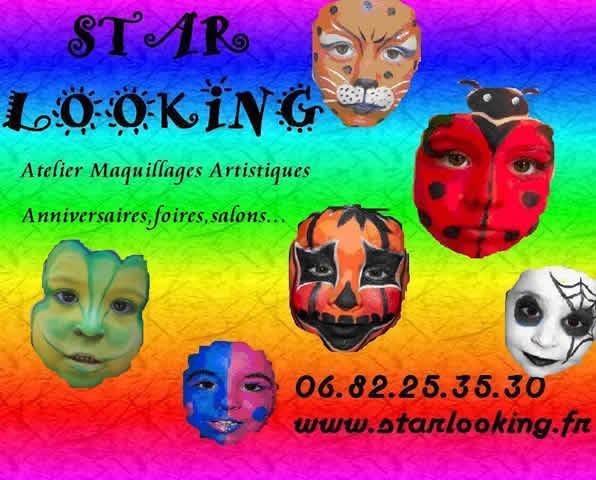 STAR LOOKING : Maquillages Artistiques Pour enfants