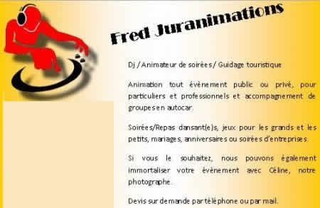 FRED JURANIMATIONS : DJ Animations de soiree