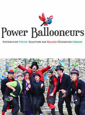 Power Ballooneurs : Sculpteur de ballons - Animation enfants