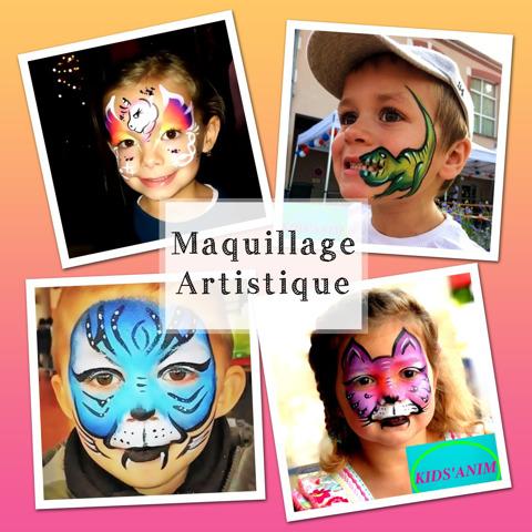kids'anim : maquillage artistique