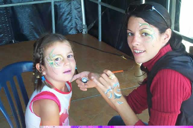 Marie Gribouille : Maquillage de fete