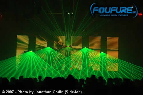 Laserdream : Location et presation show laser