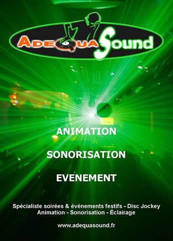 adequasound : DJ animation sonorisation