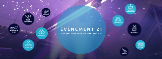 evenement 21 : animation sonorisation eclairage video