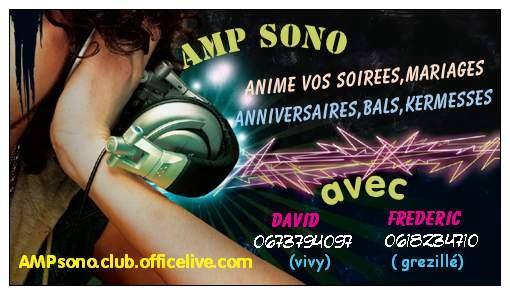 A.M.P.SONO : dj animateur
