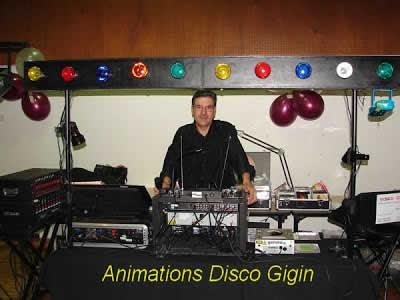 Disco-Gigin : DJ  Mariage