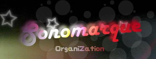 SONOMARQUE ORGANIZATION : Animation de jeux Programmation musicale