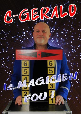 C-Gerald : magicien humoriste - animateur de fêtes