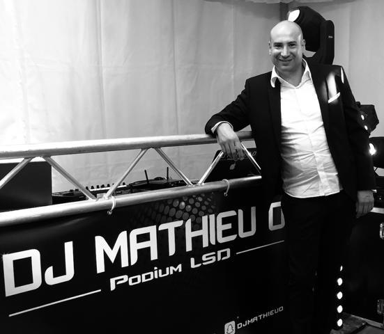 MATHIEU O PODIUM LSD : Appelez un DJ pour tous vos événements