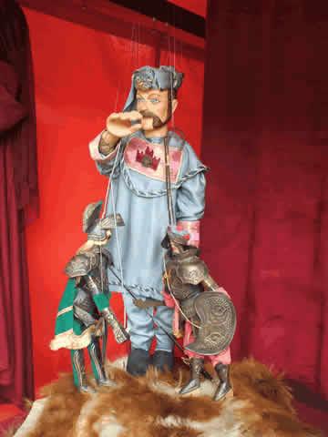 les petits bouffonsnord : spectacles marionnettes