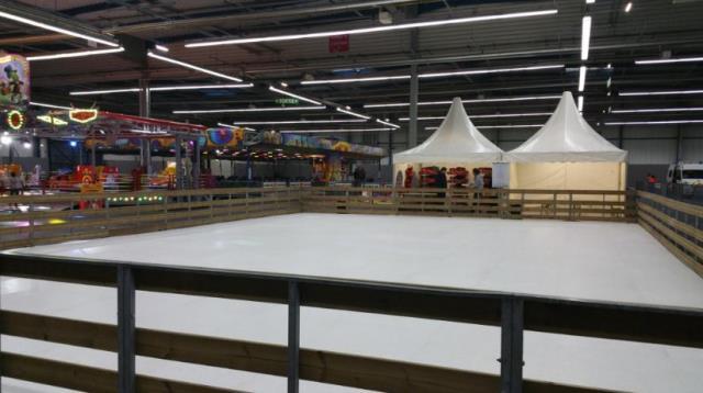 PATINOIRE ICE-TRACK-SHOW : La patinoire synthétique de référence