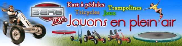 Berg toys : Location de modèles de kart à pedales
