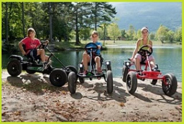 Les Tyroliennes du FIer : Louez des karts à pédales en Rhône Alpes