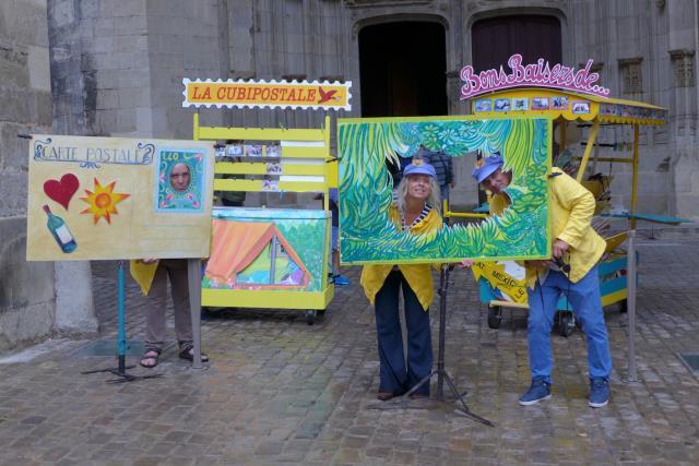 Les Cubiténistes : Une carte postale