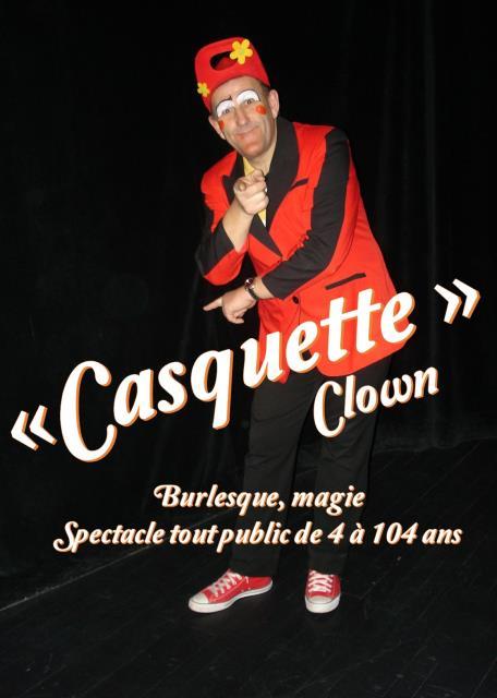 Bernard VILLANUEVA : comédien, clown tout public