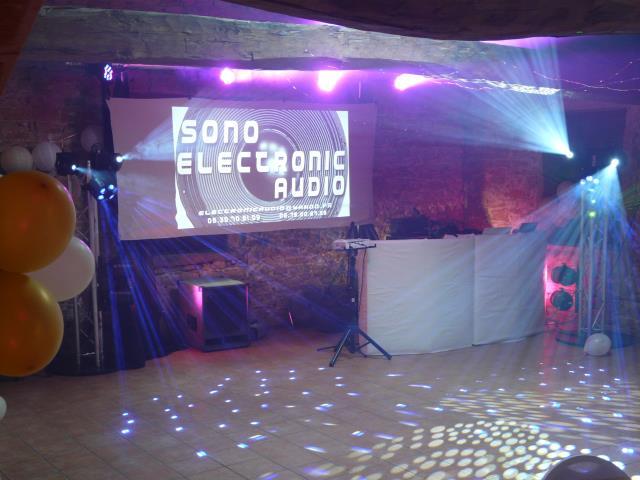 SONO ELECTRONIC AUDIO : DJ MARIAGE
