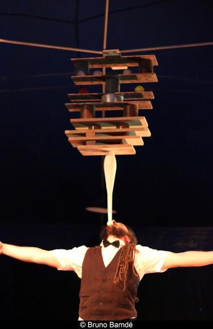 Cie C'est pas permis : théâtre interactif/cirque tout public