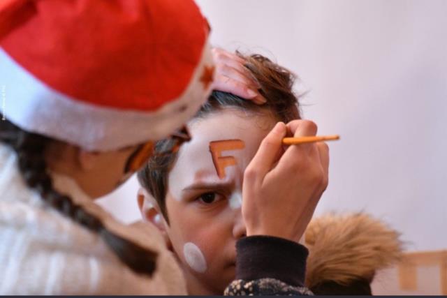 FLO BARBOUILLE : MAQUILLEUSE pour Halloween Noël fêtes