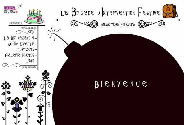 La brigade d'intervention festive : Animation de goûters d'anniversaire