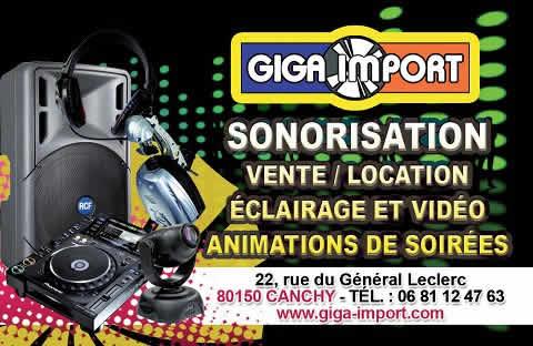 GIGA IMPORT : Location et vente de matériel de sonorisation