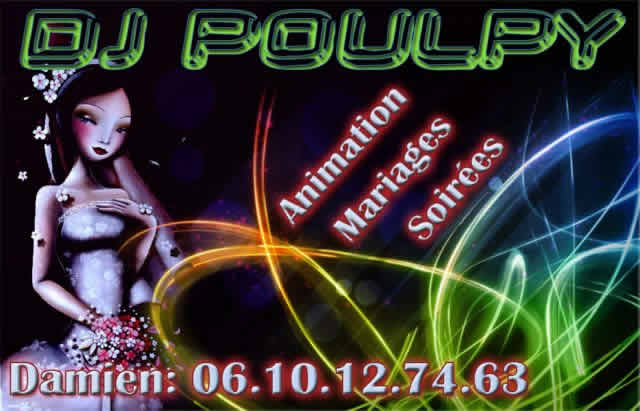 DJ Poulpy : Animations de soirées, mariages...