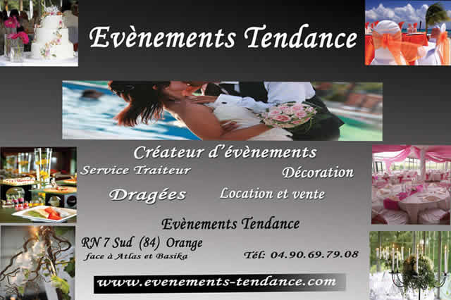 EVENEMENTS TENDANCE