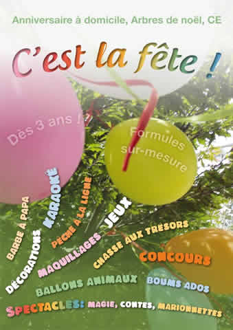 C'est la fête! : Gouter anniversaire / mariage / CE