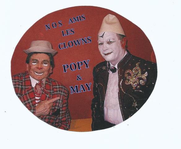 POPY ET MAY  : clowns parodistes et musicaux