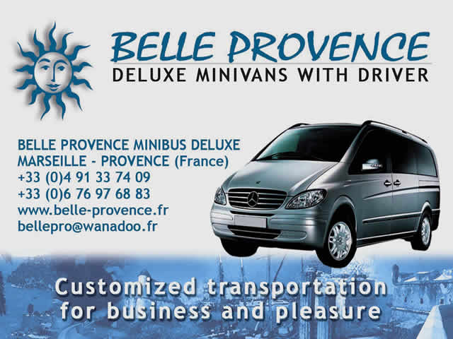 BELLE PROVENCE MINIBUS DELUXE