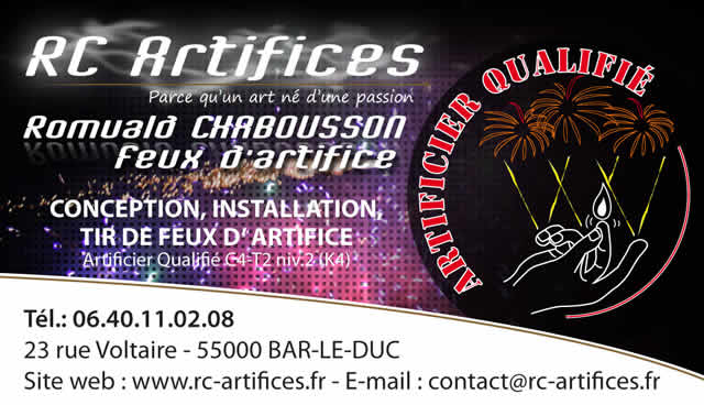 RC Artifices 1