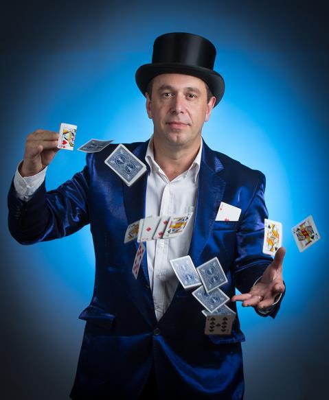 Stéphane CABANNES - Magicien : Magicien pour tous vos évènements