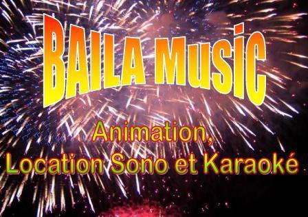 Baila-Music : Animation,Location materiel sono et kara
