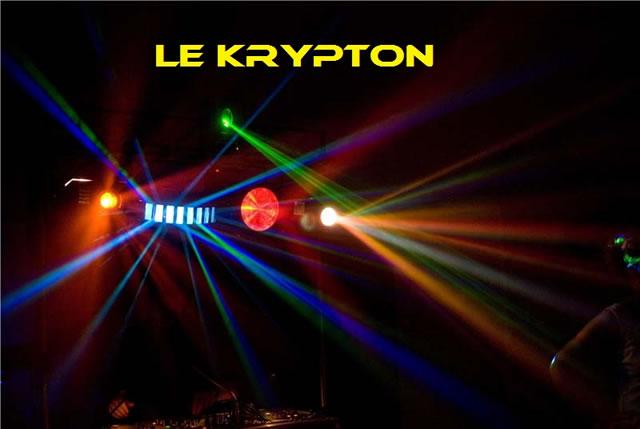 le krypton : animation sonorisation éclairage